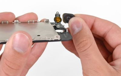 reparatie buton home iPhone 5 6 7